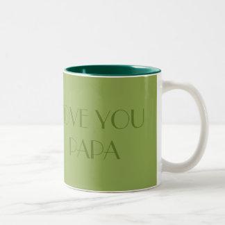 Love You Papa Father's Day Mug
