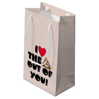 Love You Poo Gift Bag