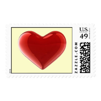 Love You Postage Stamp