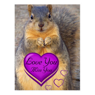Love You_ Postcard_by Elenne Boothe Postcard