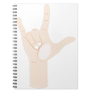 Love You Sign Notebooks