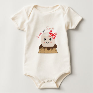 Love You Smore Baby Bodysuit