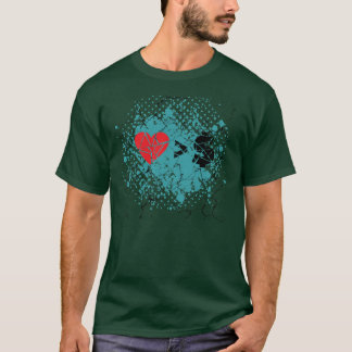 love you t grunge T-Shirt