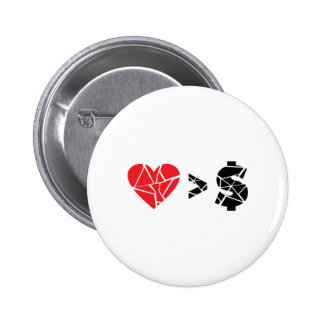love you t pinback button