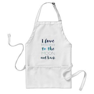 Love You to the Moon Adult Apron