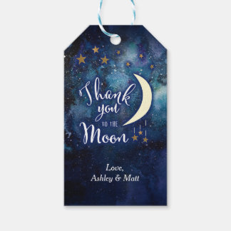 Love You to the Moon and Back Favor Tags