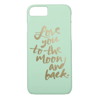 LOVE YOU TO THE MOON AND BACK | IPHONE CASE