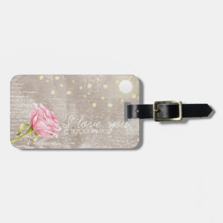Love you to the moon and back - Luggage Tag