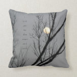 Love you to the moon and back, moon pillow
