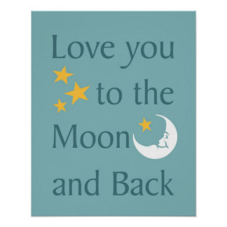 Love You to the Moon and Back poster