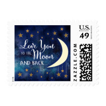 Love you to the Moon and Back Stamps