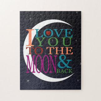 Love You to the Moon & Back Puzzle
