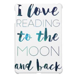 Love You to the Moon iPad Mini Cover