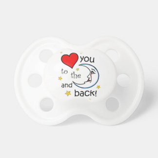 Love You to the Moon Pacifier