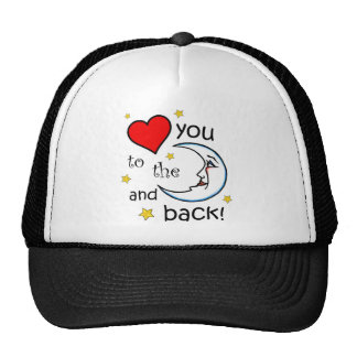 Love You to the Moon Trucker Hat