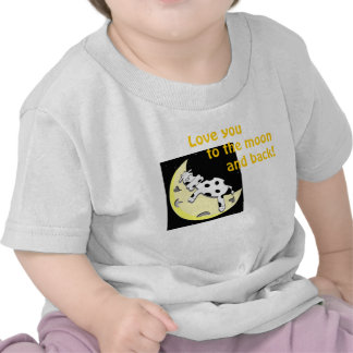Love you to the moon t shirts