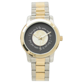 Love You to the Moon Wristwatches