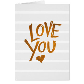 Love You! Valentines card