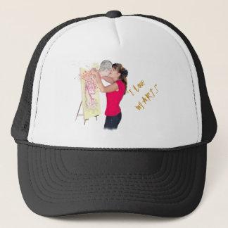 LOVE YOUR ART TRUCKER HAT