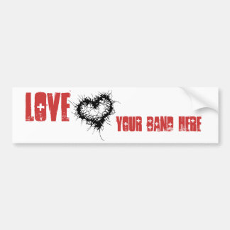 Love Your Band Bumper Sticker