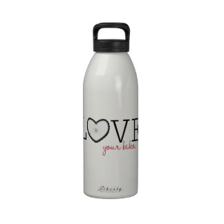 Love Your Bike Reusable Water Bottle