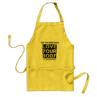 """""""Love Your Body"""" apron"""