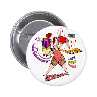 LOVE YOUR BODY PINBACK BUTTON