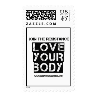 Love Your Body Postage