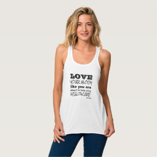 Love Your Body Tank Top