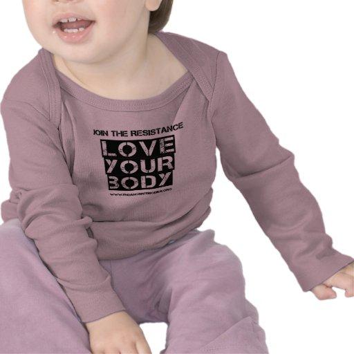 Love Your Body Tee Shirts