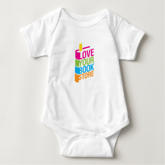 Love Your Bookstore Baby Bodysuit