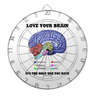 Love Your Brain It's The Only One You Have (Humor) Dartboards