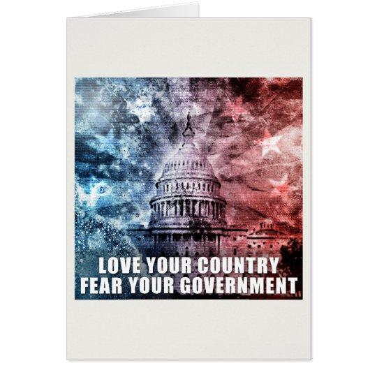 Love Your Country Card