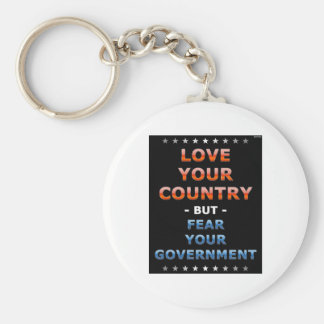 Love Your Country Keychain