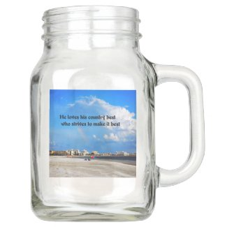 Love your country mason jar