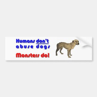 Love Your dog Bumper Sticker