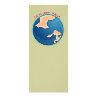 Love your Earth Book Mark Custom Rack Cards