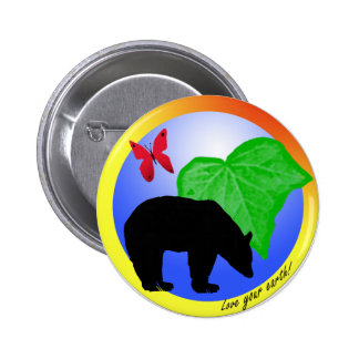 Love Your Earth Button
