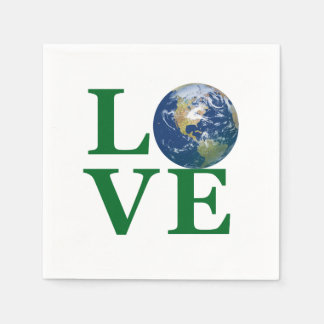Love Your Earth Napkin