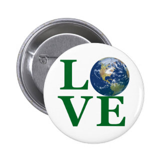 Love Your Earth Pinback Button