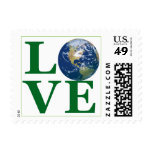 Love Your Earth Postage Stamp