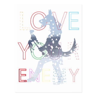 Love your Enemy Postcard