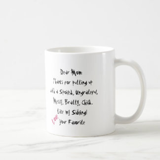 Love, Your Favorite! Mom Mug Heart