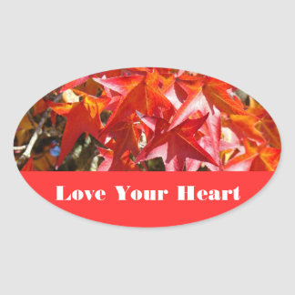 Love Your Heart stickers Heart Health Month promo