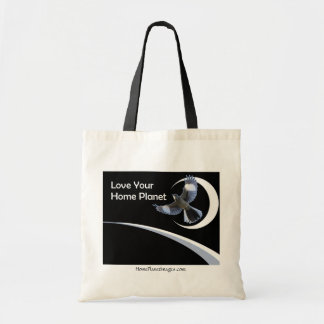 Love Your Home Planet shopping bag