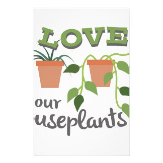 Love Your Houseplants Stationery
