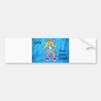 LOVE, Your InnerChild! Bumper Sticker