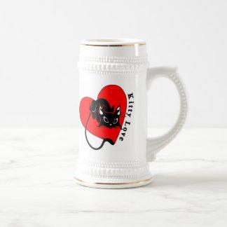 Love Your Kitty 18 Oz Beer Stein