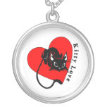 Love Your Kitty Personalized Necklace