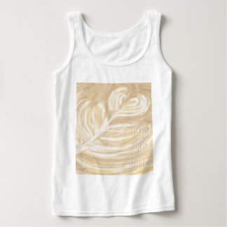 love your latte art tank top